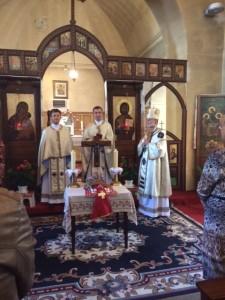 Visite de l'Evêque 28 septembre 2014